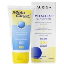 Auriga Melaclear Sunscreen Ecran Solaire Spf 50+ 50 ml
