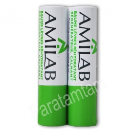 Amilab Baume Lèvres  Lot de 2 sticks