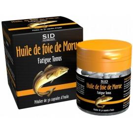 S.I.D Nutrition Phytoclassics Huile de Foie de Morue 30 Capsules