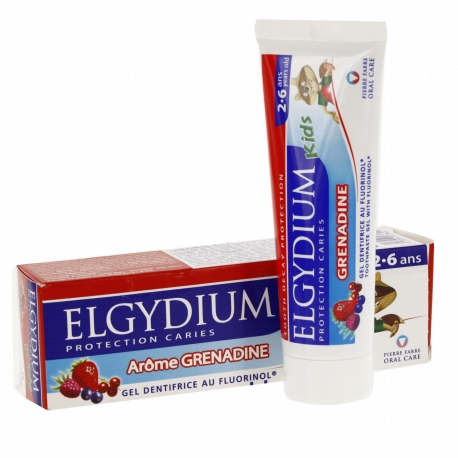 Elgydium Dentifrice Kid 2-6 ans 50 ml