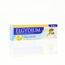 Elgydium Dentifrice Kids 2-6 ans 2 x 50 ml