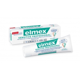 Elmex Dentifrice Sensitive Professionnal Blancheur 2 x 75 ml