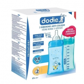 Dodie Biberon Initiation+ 2 x  270 ml