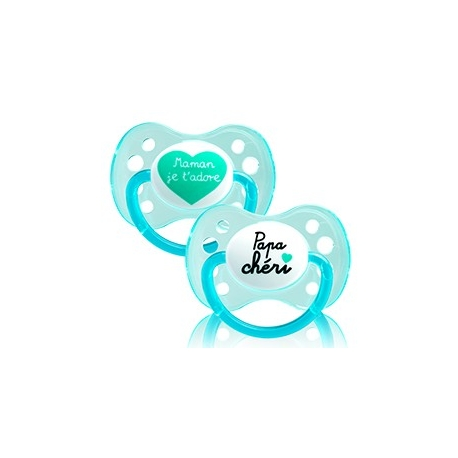 Dodie Sucette Silicone 0 - 6 mois Duo