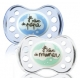 Dodie Sucette Silicone + 6 mois Nuis Duo