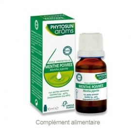 Phytosun Aroms Huile Essentielle Menthe Poivrée 10 ml