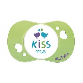 """Luc et Léa Sucette Physiologique """"Kiss me"""" 6-18 mois"""