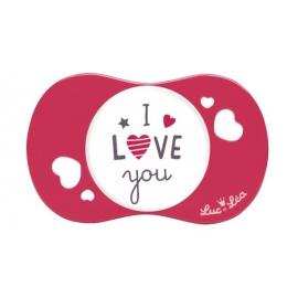 """Luc et Léa Sucette Symétrique """"I LOVE You"""" 6-18 mois"""