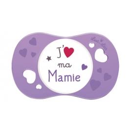 """Luc et Léa Sucette Symétrique """"J'aime ma Mamie"""" 6-18 mois"""