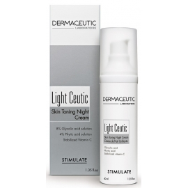 Dermaceutic Light Ceutic Crème de Nuit Unifiante 40 ml