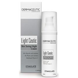 Dermaceutic Light Ceutic Crème de Nuit Unifiante 40 ml