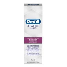 Oral-B 3D white Luxe Dentifrice Accélérateur de Blancheur 75 ml