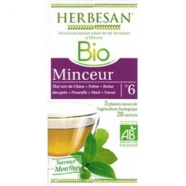 Herbesan infusion Bio Minceur 20 Sachets