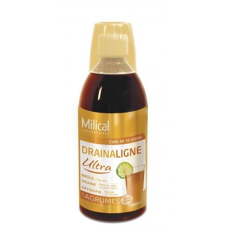 Milical Drainaligne Ultra goût agrumes 500 ml
