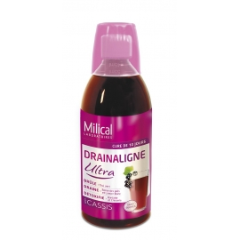 Milical Drainaligne Ultra goût cassis 500 ml