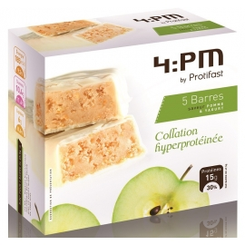 Protifast 4:Pm Barres Hyperprotéinées Pomme Yaourt x 5