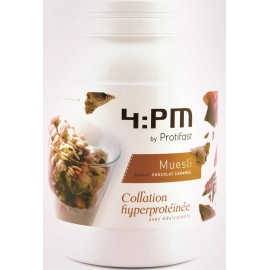 Protifast 4:pm Muesli Chocolat Caramel Pot 450 g