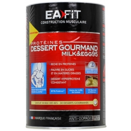 Eafit Mik&Egg 95 Dessert Gourmand Caramel Beurre Salé 450 g