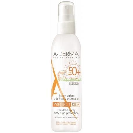 A-Derma Protect Kids Spray Solaire Spf 50 200 ml