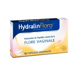 Hydralin Flora x 10 Capsules Vaginales
