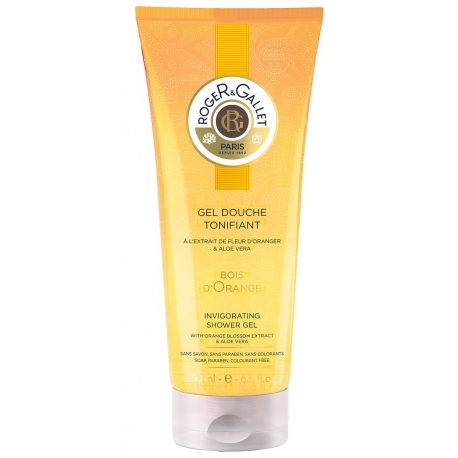 Roger & Gallet Bois d'Orange Gel Douche Tonifiant 200 ml