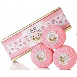 Roger & Gallet Rose Savon Parfumé 3 x 100 g