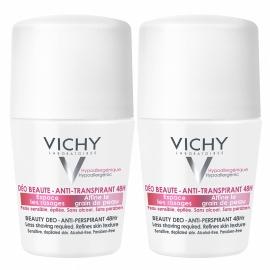 Vichy Déodorant Anti-Transpirant 48H Anti-repousse Bille 2 x 50 ml