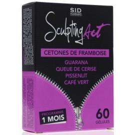 S.I.D Nutrition Sculpting Act Cetones de Framboise 60 Gélules