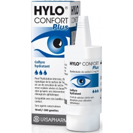 Hylo Confort Plus Collyre Hydratant 10 ml