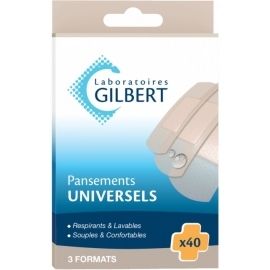 Gilbert Pansements Universels x 40