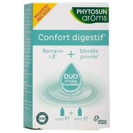 Phytosun Aroms Confort Digestif Duo d'Huiles Essentielles 2 x 10 ml