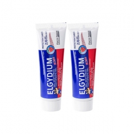 Elgydium Gel Dentifrice Kid 2- 6 ans 2 x 50 ml