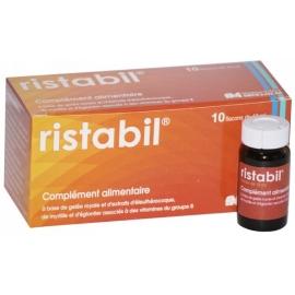 Ristabil Anti-fatigue Reconstituant Naturel 10 Flacons de 10 ml