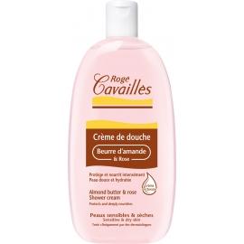 Rogé Cavailles Crème de Douche Beurre d'Amande et Rose 750 ml