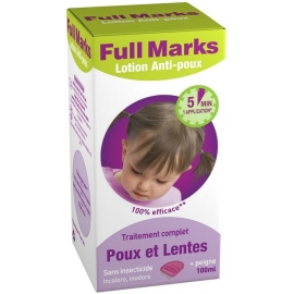 Full Marks Lotion Anti-poux 100 ml
