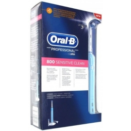 Oral-B Brosse à Dents Electrique Sensitive Clean 800