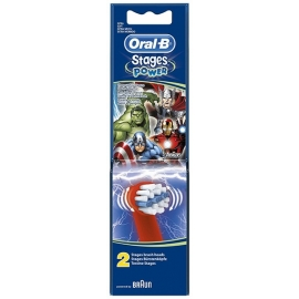 Oral-B Stages Power Brossette Rechange Avengers x 2