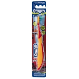 Oral-B Stage 3 Brosse à Dents 5-7 Ans Cars
