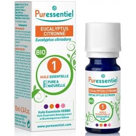 Puressentiel Huile Essentielle Eucalyptus Citronné Bio 10 ml
