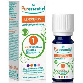 Puressentiel Huile Essentielle Lemongrass Bio 10 ml