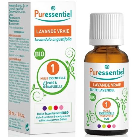 Puressentiel Huile Essentielle Bio Lavande Vraie 30 ml