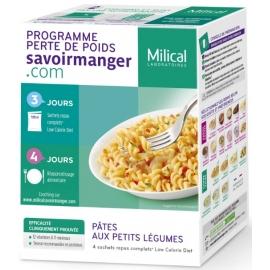 Milical Minceur Pates Aux Petits Légumes 4 Sachets