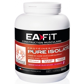 Eafit Construction Musculaire Pure Isolate Goût Chocolat 750 G