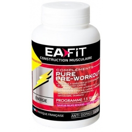 Eafit Construction Musculaire Pure Pre-Workout 330 g