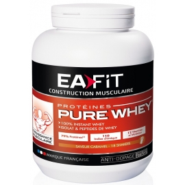 Eafit Construction Musculaire Pure Whey Caramel 750 g