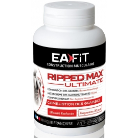 Eafit Construction Musculaire Ripped Max Ultimate 120 Comprimés