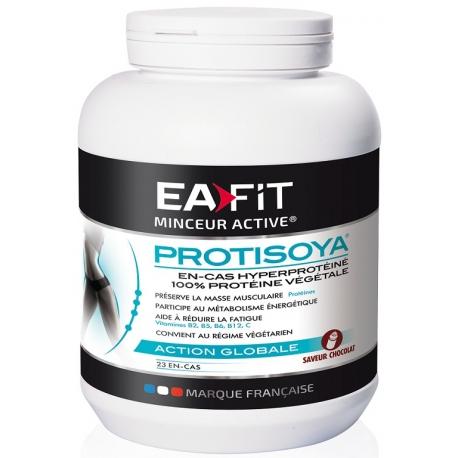 EAFIT Minceur Active Protisoya saveur chocolat  750g