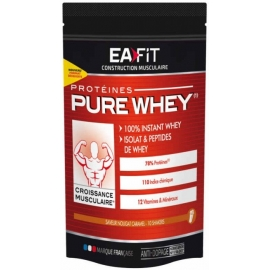 Eafit Construction Musculaire Pure Whey Caramel 400 g