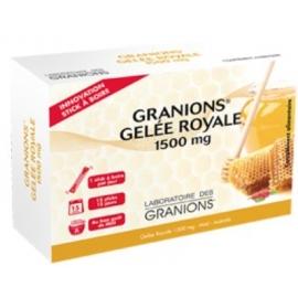 Granions Gelée Royale 1 500 mg 15 Sticks