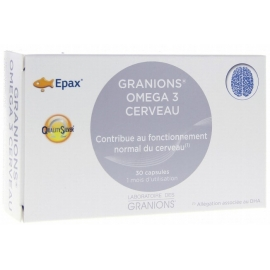 Granions Omega 3 Cerveau 30 Capsules